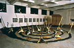 Ruins of Glamour/Glamour of Ruins, collaborative installation at Chisenhale Studios, London December 1986