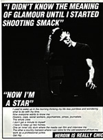 Heroin poster from Smile magazine