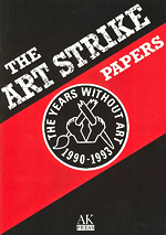 Art Strike Papers edited by James Mannox cover