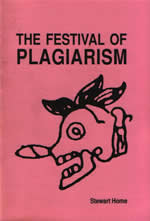 Festival of Plagiarism by Stewart Home cover