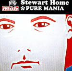 Pure Mania by Stewart Home CD cover