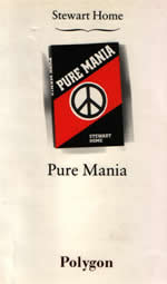 Pure Mania by Stewart Home cover