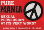 sticker promoting Pure Mania