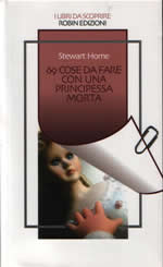 69 Things by Stewart Home cover of Italian translation