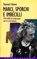 Cranked Up Really High by Stewart Home cover of the Italian translation