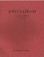 Cover of John Latham Early Works