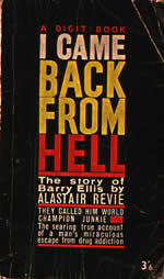 I Came Back From Hell: The Barry Ellis Story by Alastair Revie book cover