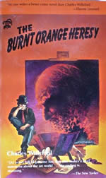 Cover of The Burnt Orange Heresy by Charles Willeford